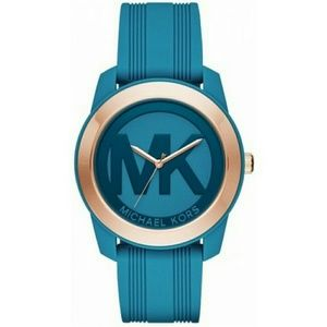 Michael Kors Turquoise Silicone Strap